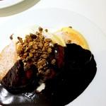 幸せのパンケーキ - ホットチョコレートパンケーキ