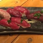 バル肉寿司 - 肉寿司