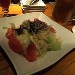 バル肉寿司 - 肉寿司のチョレギサラダ