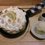 77943454 - 焼きマシュマロとレモンチーズ