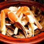 77944438 - ■ふぐの七味焼きと焼きズワイ蟹の吟醸焼き