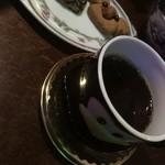ミルク村 - 〆は珈琲と見た目も手作りサービスクッキー