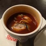 クルトン - 牡蠣のビスク