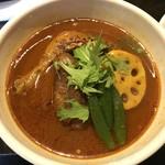 gopのアナグラ - レギュラースープ チキン野菜カレー(辛さ100番)