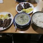 味の牛たん 喜助 - 牛タンミックス定食2160円