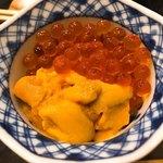 77950038 - 雲丹・筋子丼♫