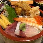 魚屋の居酒屋 魚錠 - 海鮮丼定食 980円。