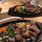 肉ダイニング こう - ステーキランチとサイコロステーキ