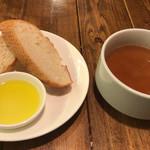 77955244 - パンとスープ