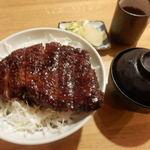 馳走亭 - 味噌カツ丼