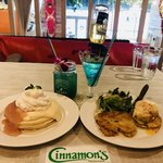 Cinnamon's Restaurant - グァバシフォンスモール1100円&クラブケーキハーフ1400円