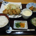 うえき - 料理写真:すりみ揚げ定食@730