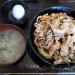 伝説のすた丼屋 - すた丼(並)(¥630)
