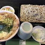 77958564 - 一成丼とせいろ蕎麦セット(¥1,465)