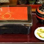 うなぎの豊川 - ■鰻重 2500円