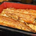 うなぎの豊川 - 地焼き鰻です。
