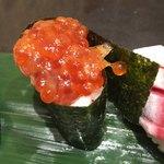 立食い寿司 根室花まる - すじこの切り落し(100円)