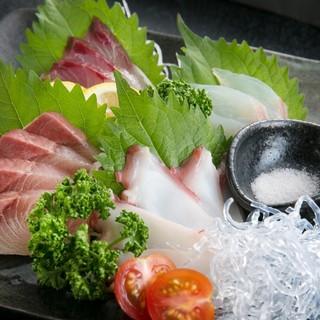 魚介料理が中心!!