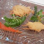 THE KUSUNOKI CLUB - 真鯛と新じゃがいも重ね焼き アメリケーヌソース