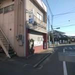 和食富味 - 駐車場はこの手前を左折(宮城野原方面から来たらな。説明乙)