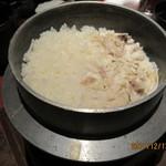 竹蔵 - 料理写真:  鯛釜飯        by 冬の花火
