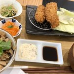 GOHANYA' GOHAN  - 広島産大粒牡蠣フライ定食