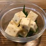 八丈島郷土料理 梁山泊 - くさやチーズ 600円