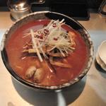 麺匠 呉屋 - 浅蜊辛そば880円