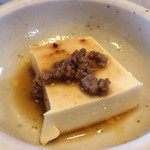 焼肉 ふじ咲 - セットの豆腐