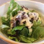 焼肉 ふじ咲 - シーザードレッシングサラダ