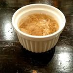 ハナファームキッチン - ランチに付くスープ