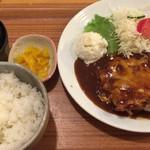 ざぼん - 料理写真:チキンチーズ定食
