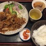 醍醐 - 牛焼肉定食