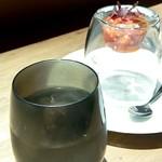77967479 - アミューズ「タコのトマト煮」