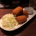 和食肉酒場 肉箸 - 紅ズワイ蟹のクリームコロッケ