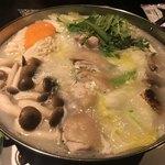 地鶏個室居酒屋 三嶺 - 阿波尾鶏の白湯美食鍋