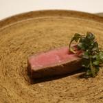 nagoya murata  - 飛騨牛A5ランプの炭火焼き