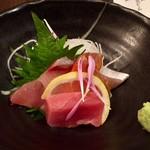 和食 いぶり - 中トロと産直鮮魚2種盛り