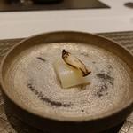 nagoya murata  - アオリイカのカルパッチョ柚子