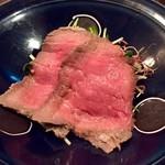 和食 いぶり - 牛イチボ肉のロースト