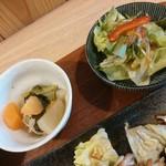 塩胡椒 - 煮物、サラダ【2017.12】