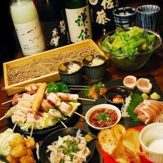 バッテン自慢の料理を堪能!飲み放題付宴会コースは4000円~