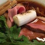カネキッチン ヌードル - 鴨ロースに焼きネギ