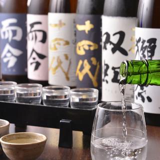 プレミアム日本酒ご用意しています!