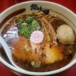 総大醤 - 【黒大醤(醤油) + 半熟味付け玉子】¥700 + ¥100