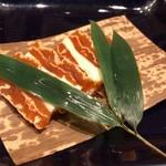 和食・酒 えん - 干し柿のクリームチーズサンド