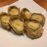 和食・酒 えん - 湯葉のチーズとろり揚げ