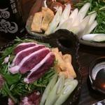 大阪食酒 リエカオ - 河内鴨のハリハリ鍋コース