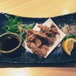 味処 進 - 大山鶏の唐揚げ