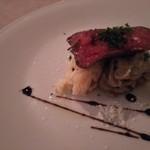 イタリア料理 ペロー - カイノミ♪イタリア米リゾットと、里いもと舞茸の‥‥なんだっけ?笑